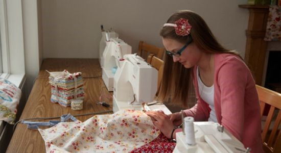 youth sewing