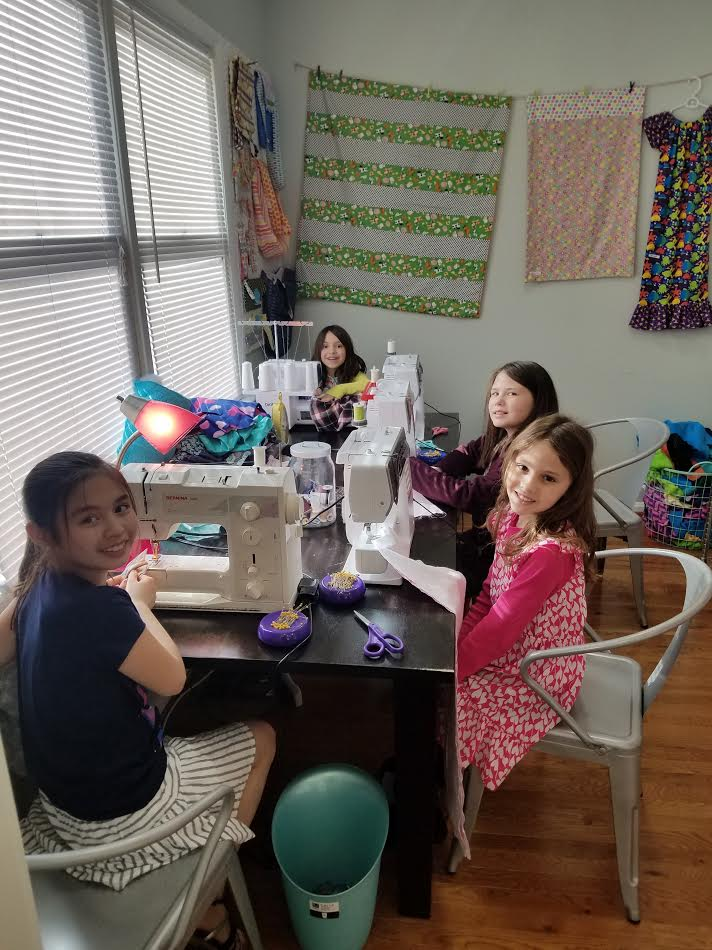 Kids sewing FC